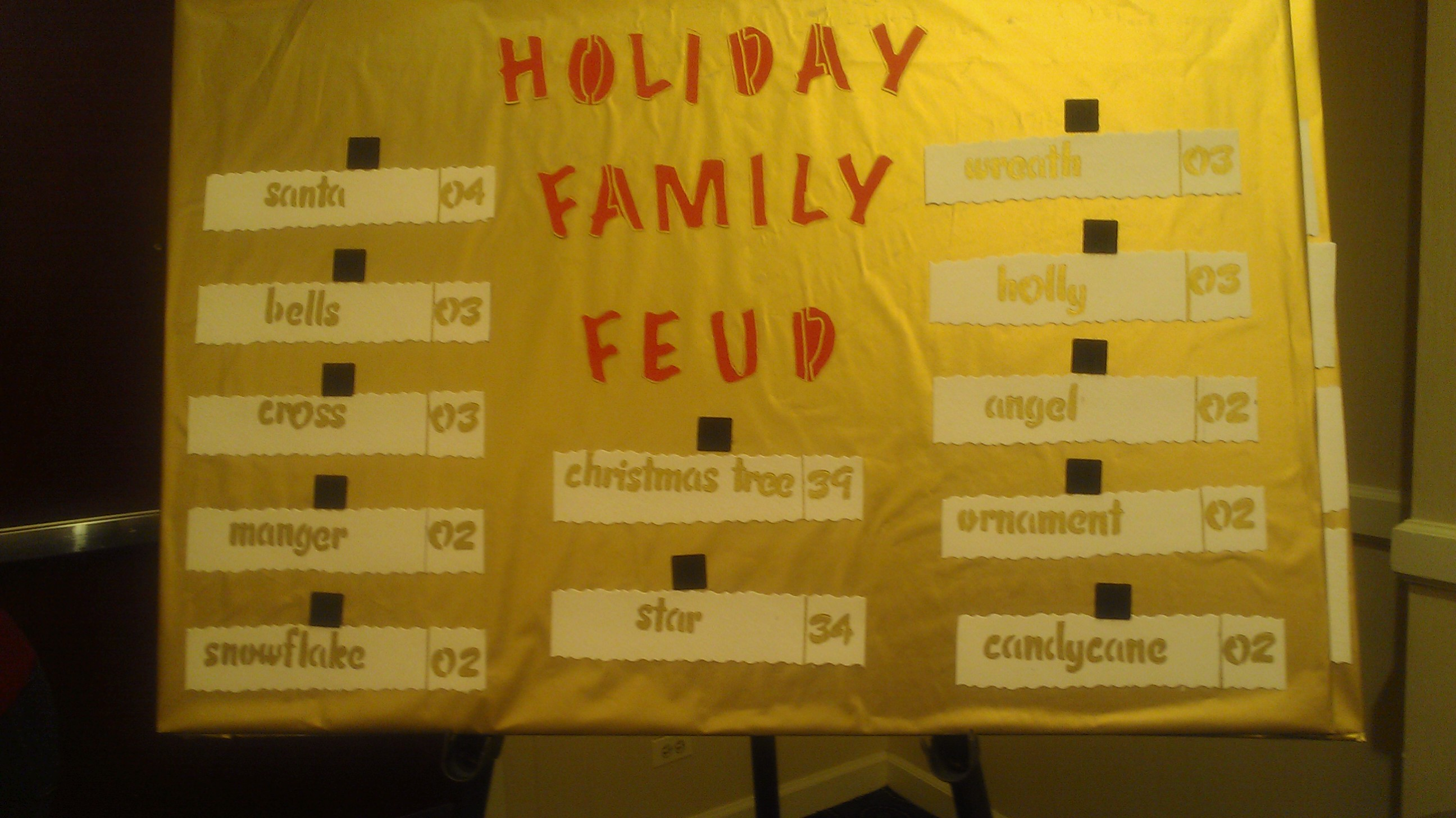 Holiday Family Fued