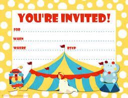 child birthday party invitation2