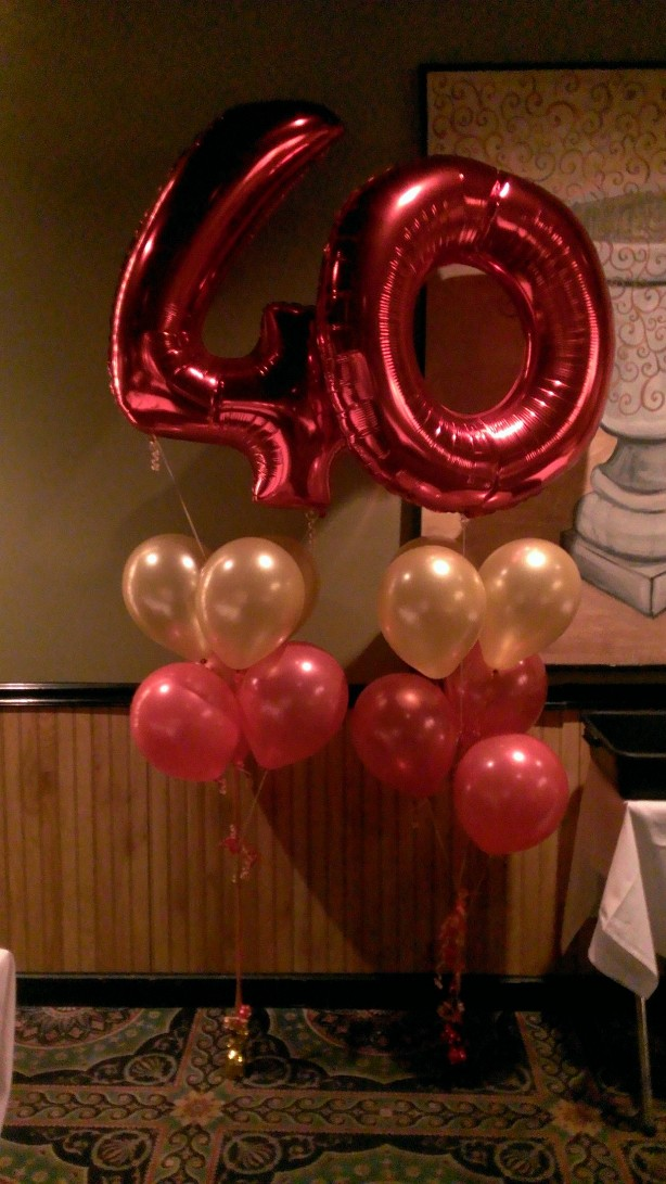 40th Wedding Anniversary Party