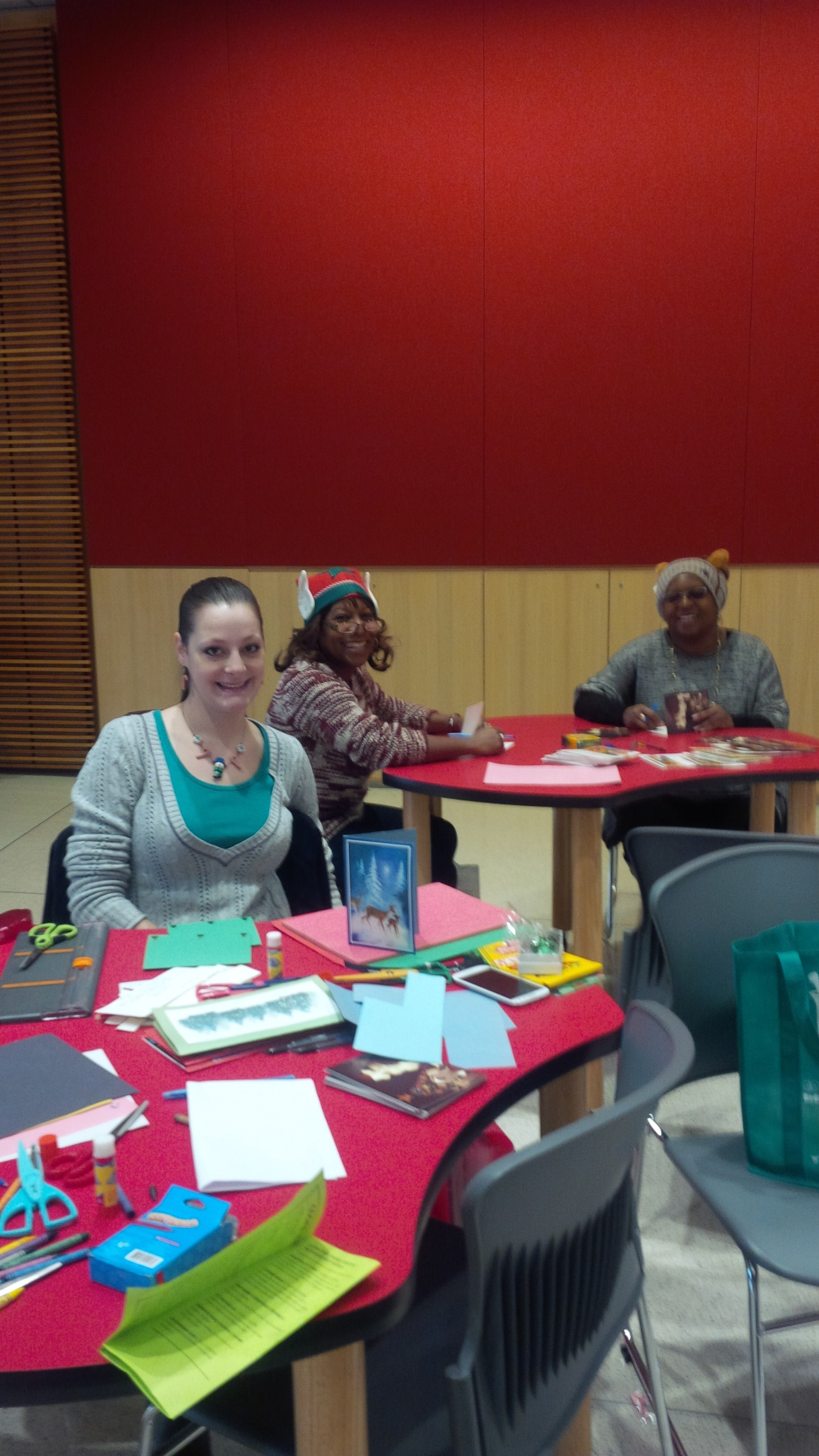 Card Making Party Attendees