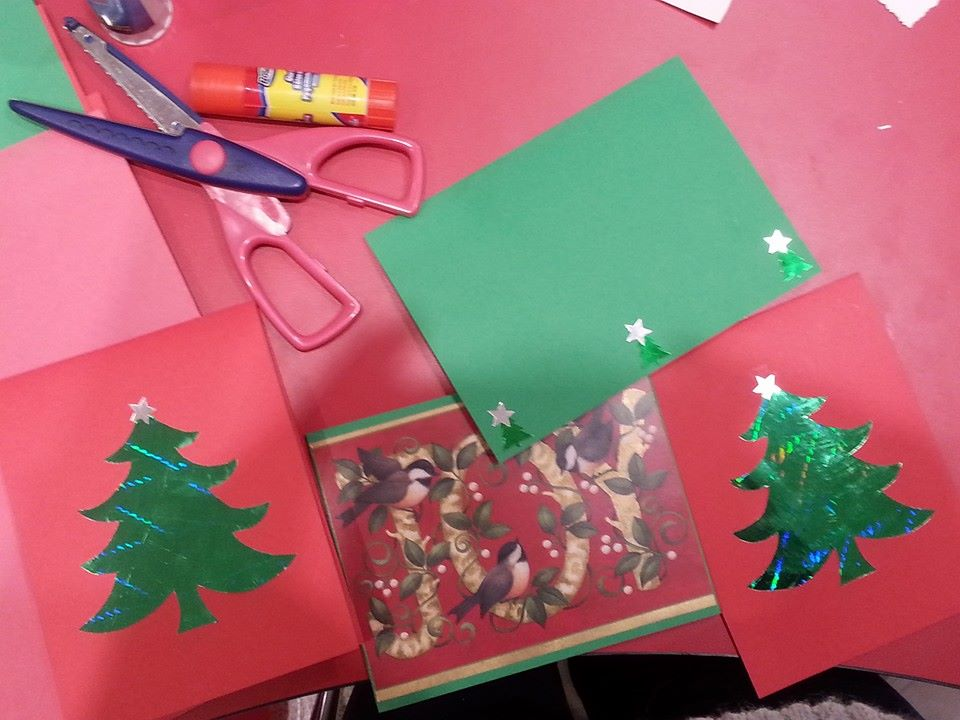 Holiday Mail For Heroes Card Making Party