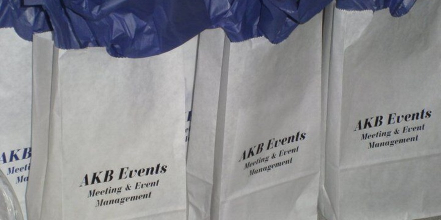 AKB Events goodie bags twitter