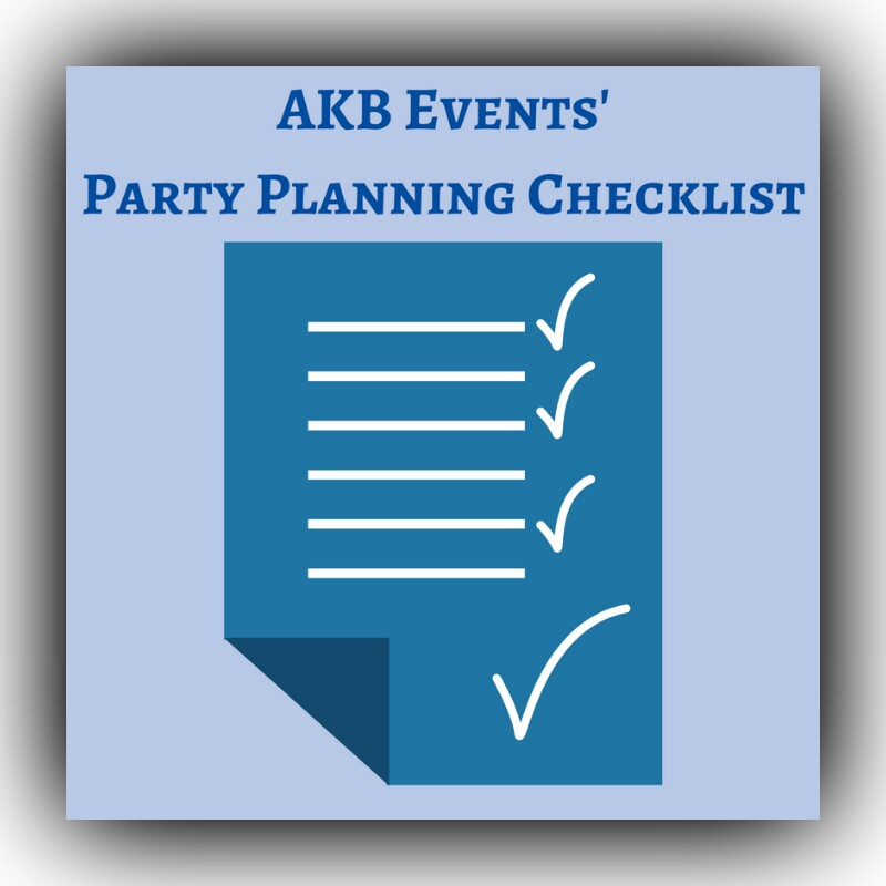 Click to get a FREE party planning checklist
